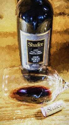 Photograph - My Old Friend Shafer by David Letts