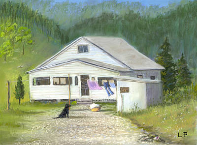 My Old Kentucky Home Art Print by Linda Preece