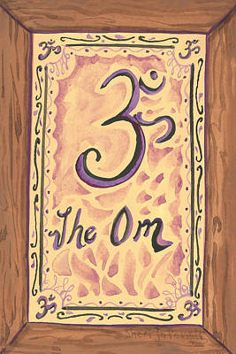 Painting - My Om by Sheri Jo Posselt