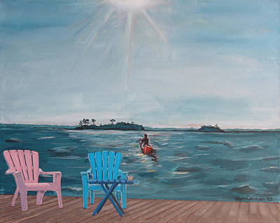 Jimmy Buffett Painting - My Own Particular Harbor by Kevin Callahan