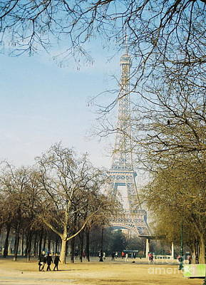 Photograph - Paris Eiffel Tower by Rosemary Augustine