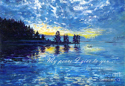 Wall Art - Painting - My Peace by Debra Link