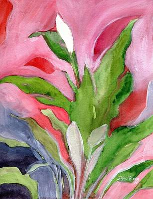 My Peace Lily Art Print