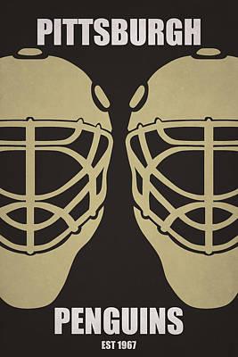 My Pittsburgh Penguins Art Print by Joe Hamilton