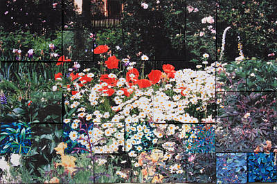 Photograph - My Pixeled Garden by John Lautermilch