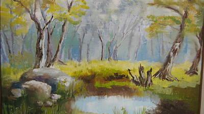My Pond Art Print by Mabel Moyano