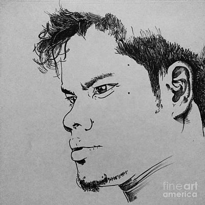 Portrate Drawing - My Portrate by Mrbodra Ji