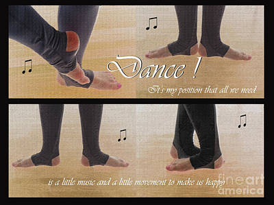Photograph - My Position On Dance by Nina Silver