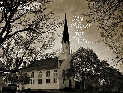 Art Print featuring the photograph My Prayer For You by Joanne Coyle