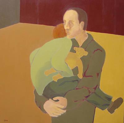 Painting - My Protector by Renee Kahn