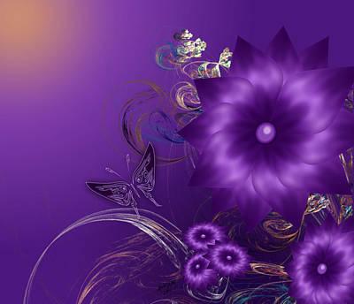My Purple Day Art Print