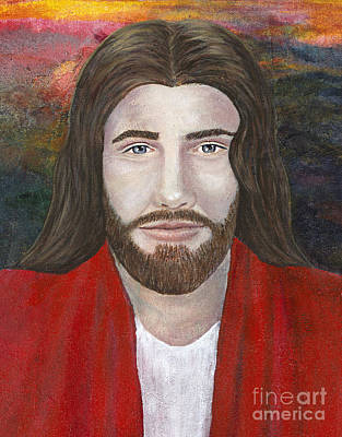 Painting - My Redeemer Jesus Christ by Denise Hoag