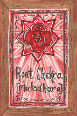 Painting - My Root Chakra by Sheri Jo Posselt