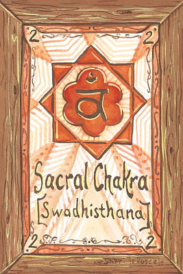 Painting - My Sacral Chakra by Sheri Jo Posselt