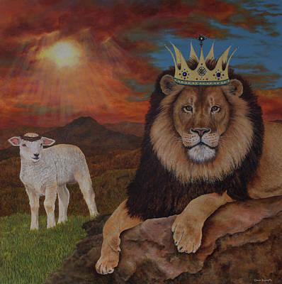 My Savior, My King Art Print