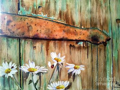My Secret Garden Original by Patricia Pushaw