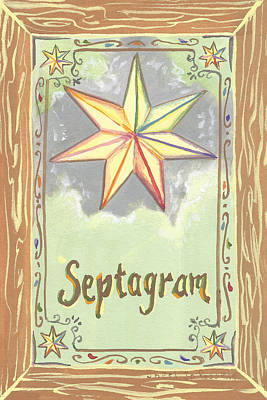 Painting - My Septagram by Sheri Jo Posselt