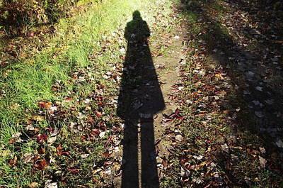 Photograph - My Shadow by David and Lynn Keller