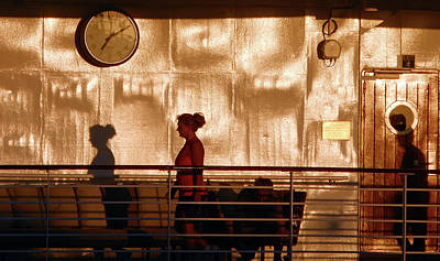 Photograph - My Shadows 2 by Ron Kandt