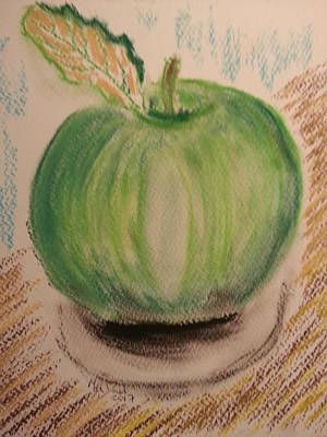 My Shiny Apple Art Print