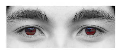 Photograph - My Son's Eyes by James BO Insogna