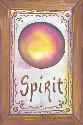 Painting - My Spirit by Sheri Jo Posselt
