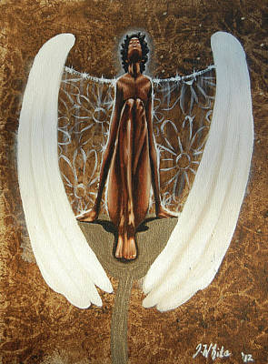 Painting - My Spring Angel by Jerome White