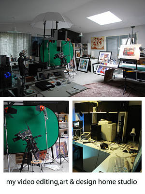 Photograph - My Studio by Bob Salo