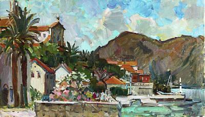 Painting - My Summer On Adriatic by Juliya Zhukova