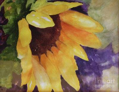 Tuscan Sunflowers Painting - My Sunshine by Barbara Sutton