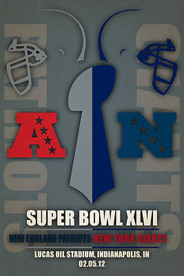 Indianapolis Photograph - My Super Bowl 46 Patriots Giants 3 by Joe Hamilton