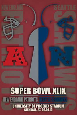 Patriots Photograph - My Super Bowl 49 Patriots Seahawks by Joe Hamilton