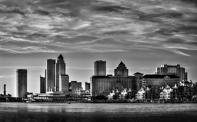 Tampa Skyline Photograph - My Tampa by Marvin Spates