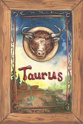 Painting - My Taurus by Sheri Jo Posselt