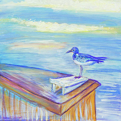 Painting - My Tern 3 by Paper Jewels By Julia Malakoff