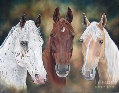Painting - My Three Sons by Heidi Parmelee-Pratt