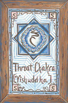Painting - My Throat Chakra by Sheri Jo Posselt