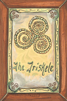 Painting - My Triskele by Sheri Jo Posselt