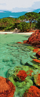 Painting - My Tropical Heaven by Andrea Mazzocchetti