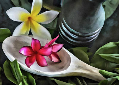 Photograph - My Tropical Kitchen by Jade Moon