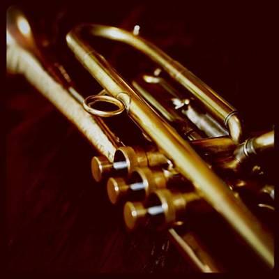 Music Photograph - My Trumpet by Yuji Watanabe