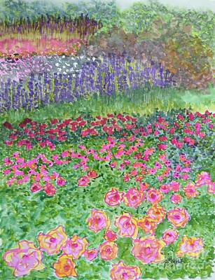 Painting - My Ultimate Garden  by Barrie Stark