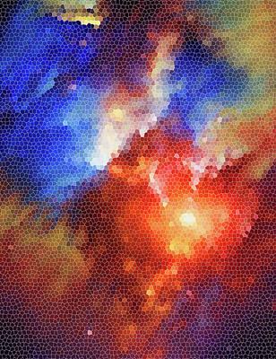 Digital Art - My Universe by Andrea Mazzocchetti