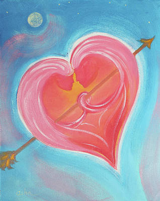 Painting - My Valentine  by Asha Carolyn Young