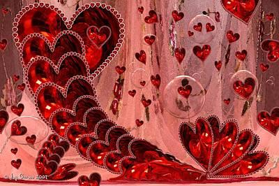 My Valentine Print by Joy Gerow