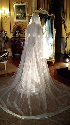 Photograph - My Wedding Gown by Gary Smith