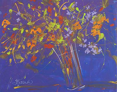 Painting - My Wildflower Bouquet by Terri Einer