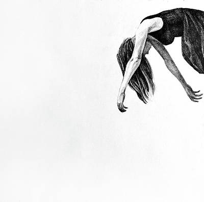 My Wings, 2015, 50-50cm, Graphite Crayon On Paper Art Print