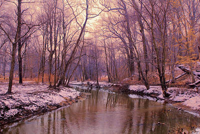 Photograph - My Winter Morning by John Rivera