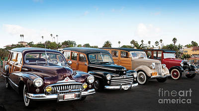 Photograph - My Woodie Friends by David Levin